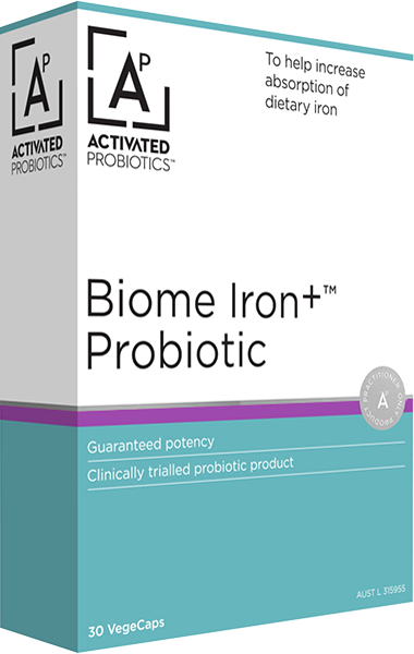 Biome Iron+ Probiotic Product