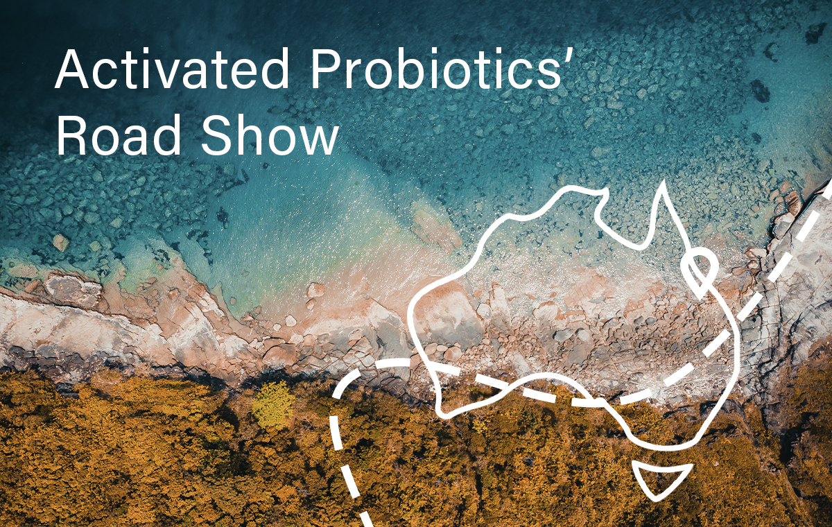 Activated Probiotics' Road Show